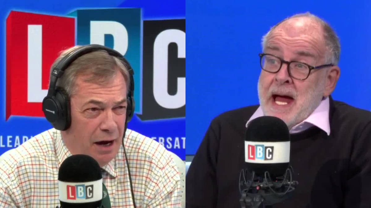 Labour Peer tells Nigel Farage the current party 'depresses' him