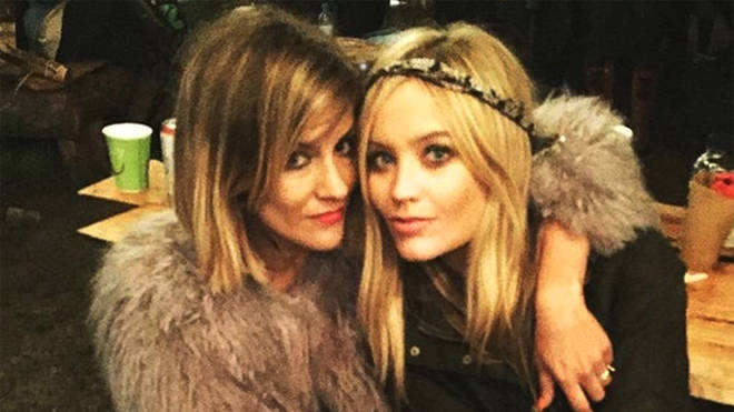 Laura Whitmore paid an emotional tribute to Caroline Flack