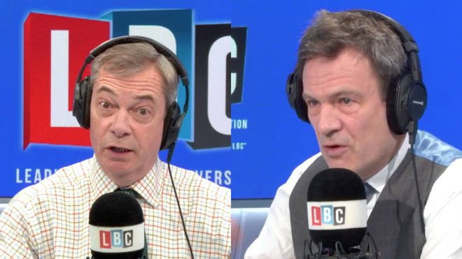 Nigel Farage was speaking to Tory MP Bob Seely