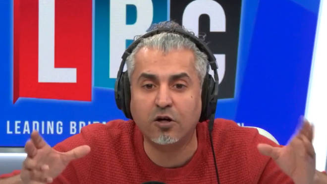 Maajid Nawaz was furious with this caller