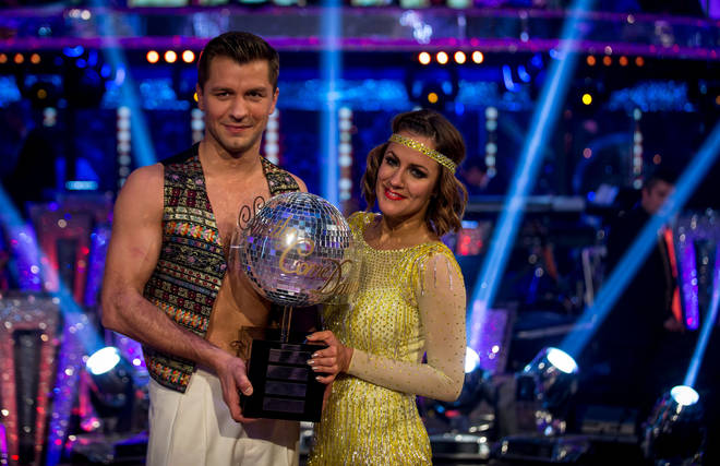 Ms Flack won Strictly Come Dancing in 2014 with Pasha Kovalev