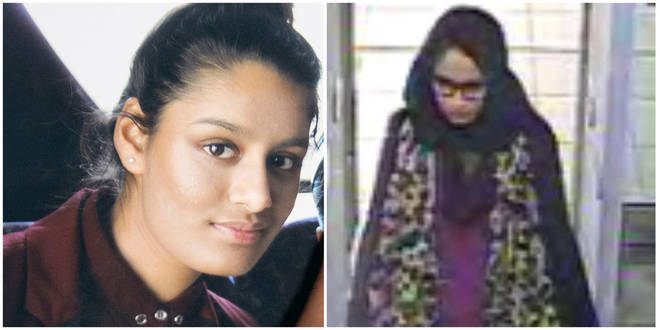 Shamima Begum has emerged in a camp in north-east Syria
