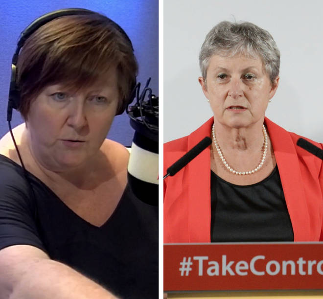 Gisela Stuart was quizzed by Shelagh Fogarty over the claims on Monday