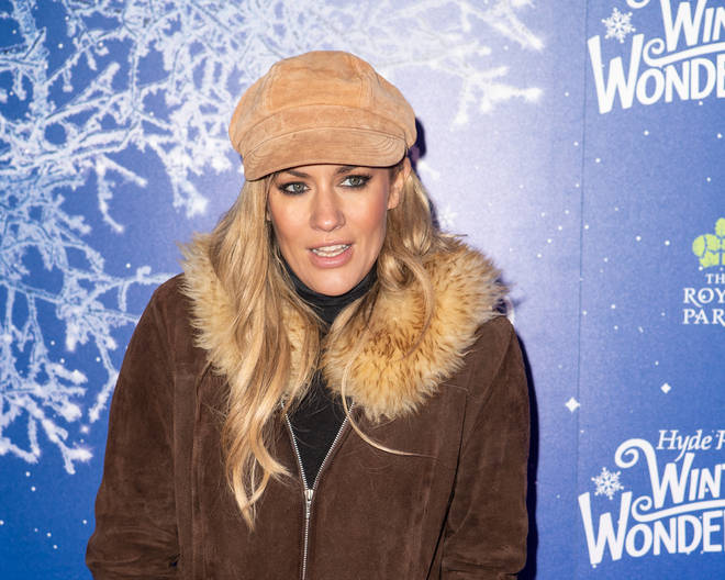Caroline Flack at Hyde Park Winter Wonderland 2019 - VIP Preview Night