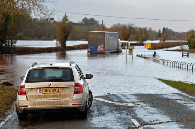 Further UK flooding could be caused if global temperatures continue to rise