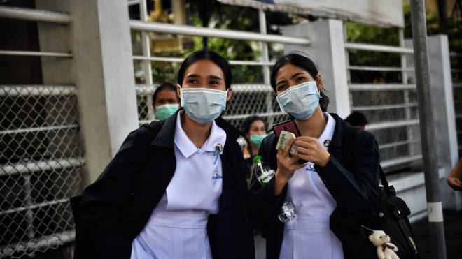 THAILAND-CHINA-HEALTH-VIRUS