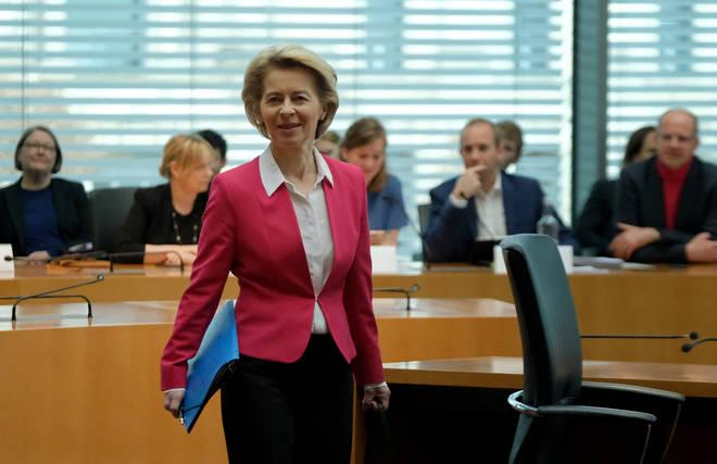Ursula von der Leyen has spoken out against Boris Johnson's plans
