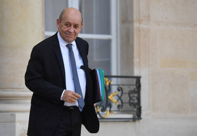 Jean-Yves le Drian made the comments on Sunday