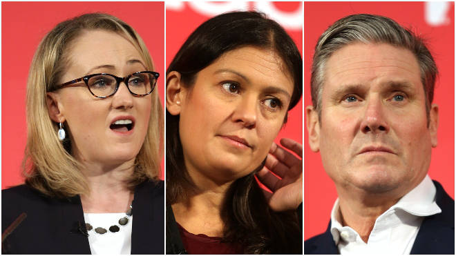 Long-Bailey, Nandy and Starmer are going head-to-head in a TV debate