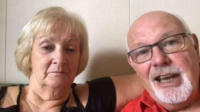 David and Sally Abel have tested positive for the COVID-19 coronavirus