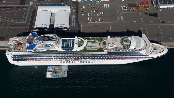 542 people are infected onboard the Diamond Princess
