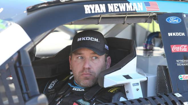 Roush Fenway Racing driver Ryan Newman