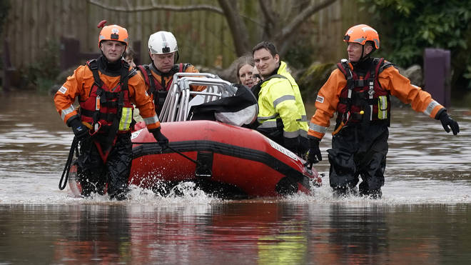 Flood Warnings Persist Across Parts Of UK Following Storm Dennis