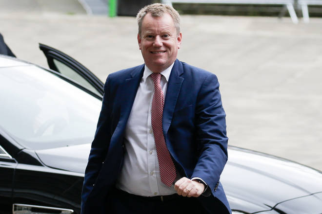 British Brexit negotiator David Frost arrives for a meeting with British ambassador to the EU on October 8, 2019 in Brussels