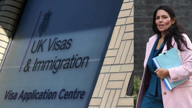 Priti Patel is set to launch the new immigration system on Wednesday