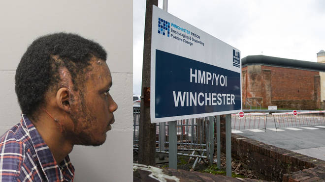 The incident occurred at HMP Winchester