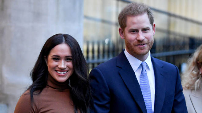 Harry and Meghan have reportedly stripped of their use of Sussex Royal branding