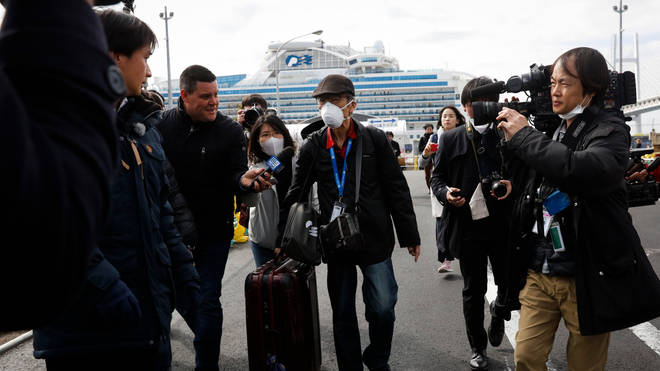 Passengers will disembark over the next few days