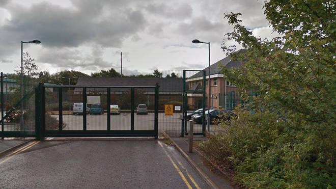 Northern Area Custody in Stoke-on-Trent.