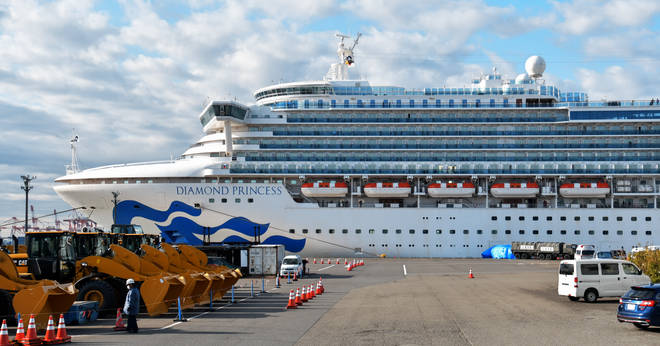 Britons onboard the Diamond Princess are to be evacuated