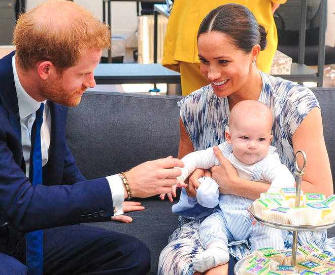 The couple are living in Canada with their young son Archie
