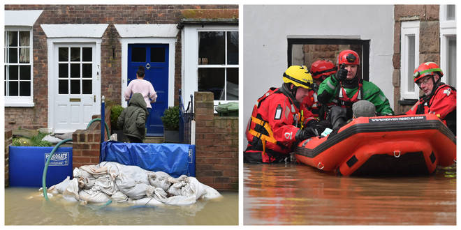 There has already been flooding across Britain