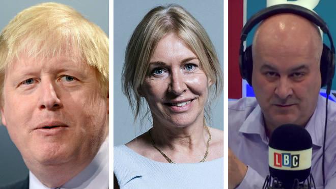Boris Johnson Nadine Dorries Iain Dale