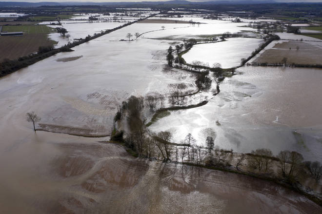 Flood warnings are in place across the UK