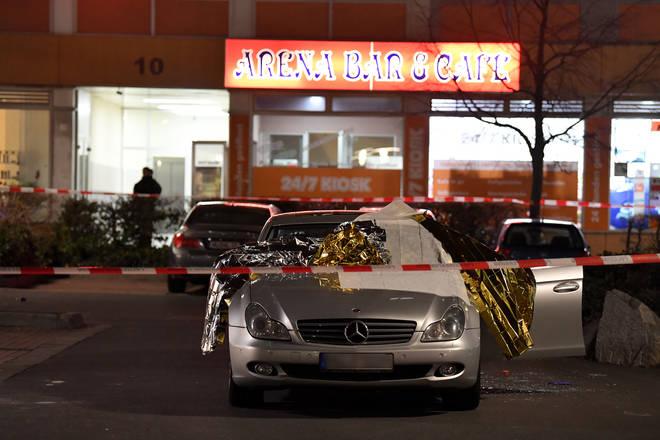The shootings happened at two shish bars