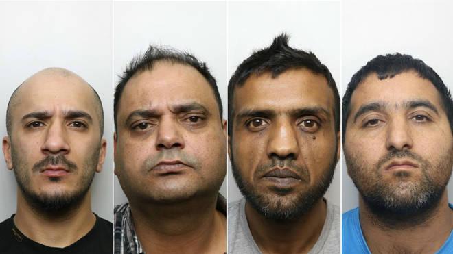 Usman Ali, Gul Riaz, Banaras Hussain, Abdul Majid