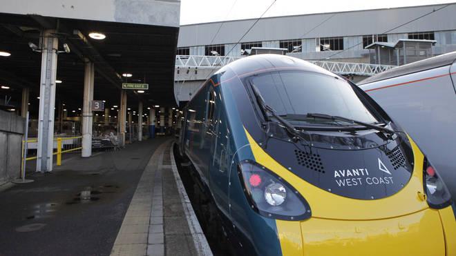 File photo: Avanti West Coast's punctuality was down 3.9 per cent