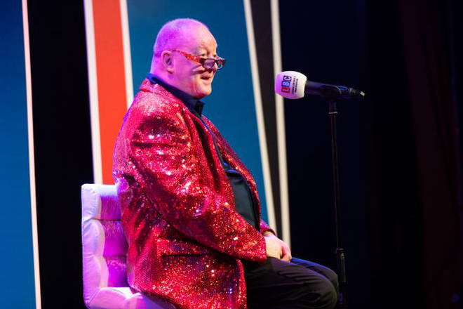 Steve Allen took to the stage for one night only in a sold-out event