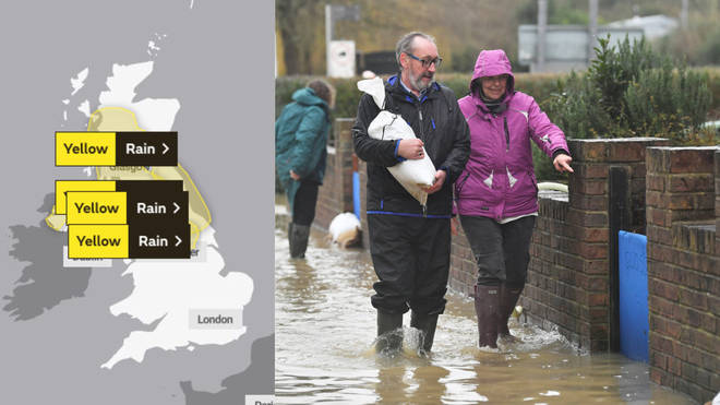 Already flood hit areas are bracing for more weather misery