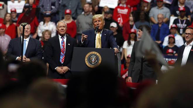 Donald Trump criticised the film Parasite
