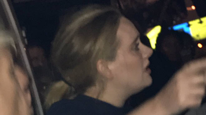 Adele attends Grenfell Tower vigil