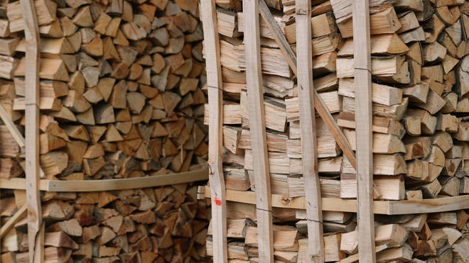 The sale of wet logs as household fuel is to be phased out