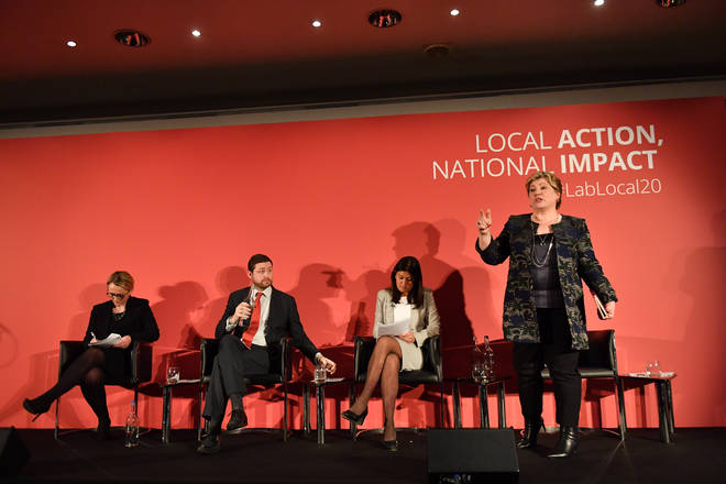 Rebecca Long-Bailey, Emily Thornberry and Lisa Nandy expressed support for the charter