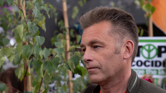 Chris Packham is a vocal opponent of badger culling