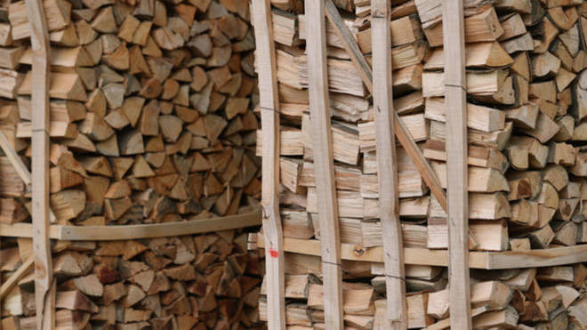The sale of wet logs as household fuel is to be phased out.