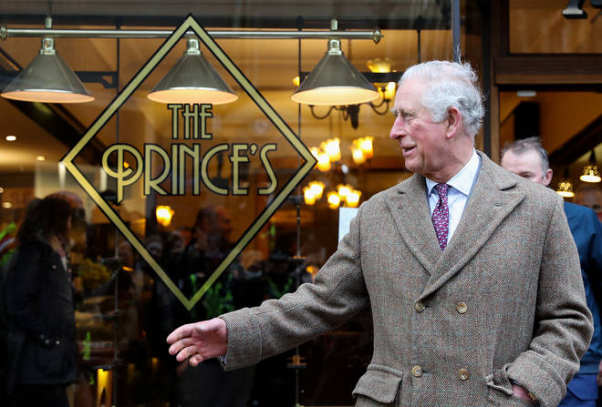 The Prince of Wales visited businesses affected by the floods