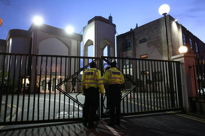 The prayer leader was stabbed at a London mosque