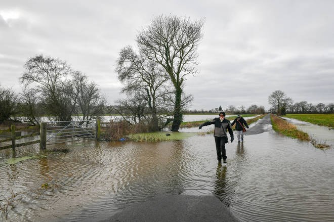 Floods from storms Dennis and Ciara have severely affected the British Isles