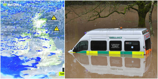More wind and rain is expected to bring further flooding to the UK this weekend