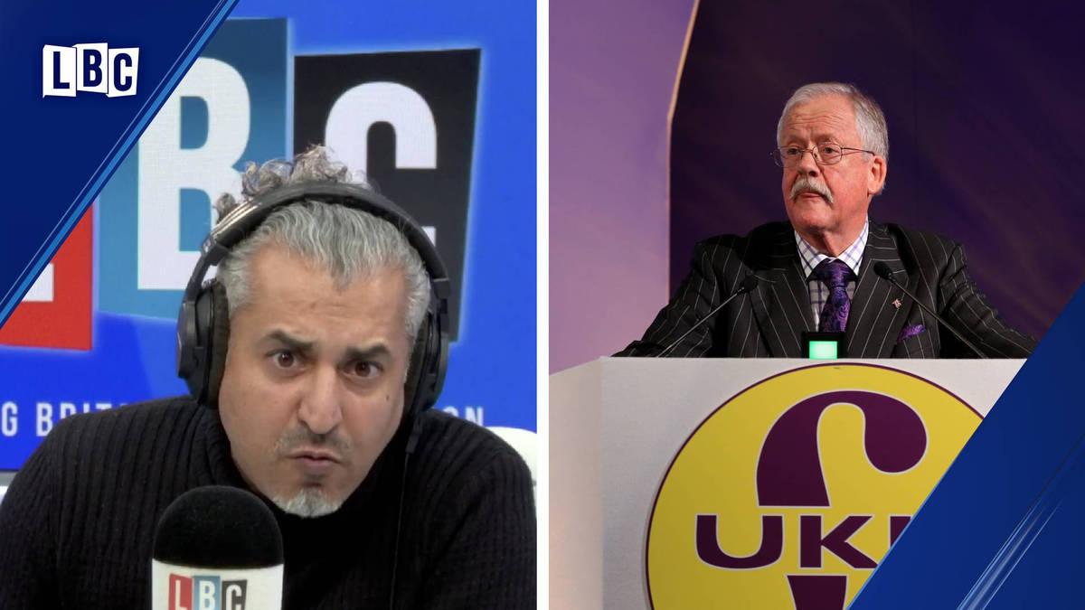 Maajid Nawaz stumps former UKIP MEP
