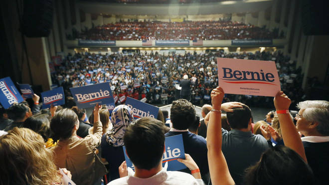 Mr Sanders struck a chord with Nevada's strong Latino community