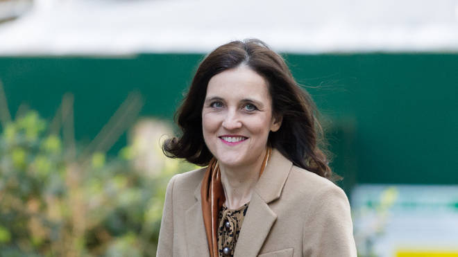 Theresa Villiers had previously ruled out the idea of importing chlorinated chicken