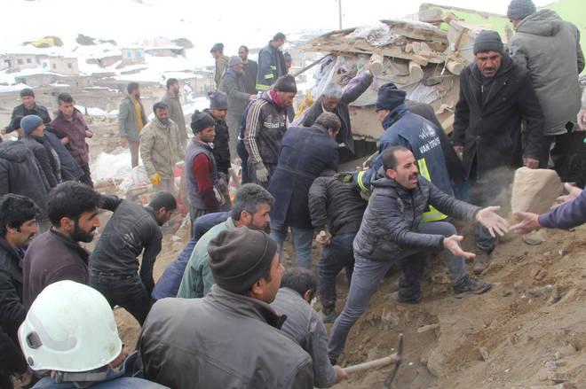 An earthquake in eastern Turkey has left nine dead