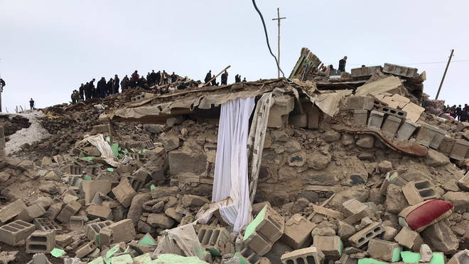Several earthquakes have recently ravaged the region