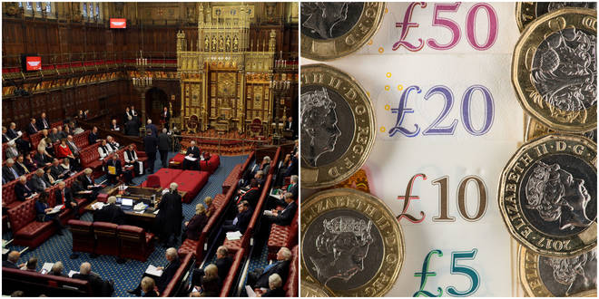 Peers paid themselves almost a third more money last year compared to the previous 12 months