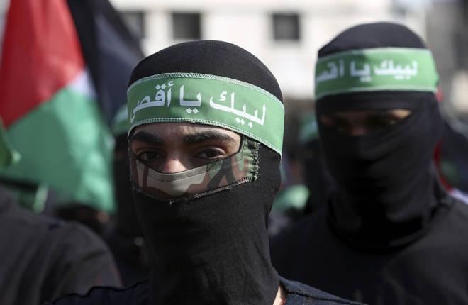 Hamas, an islamist anti-semitic group